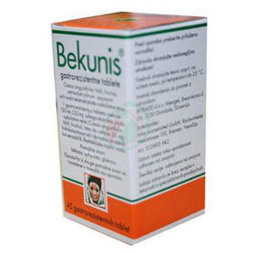 Slika Bekunis tablete proti zaprtju, 45 tablet