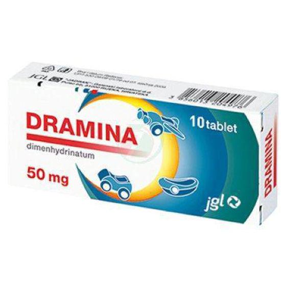 Dramina, 10 tablet