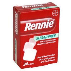 Slika Rennie, 24 žvečljivih tablet