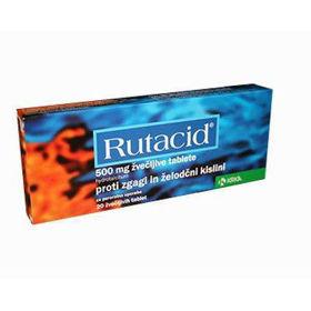 Slika Rutacid tablete, 20 tablet