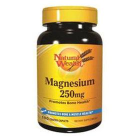 Slika Natural Wealth magnezij 250 mg, 100 kapsul