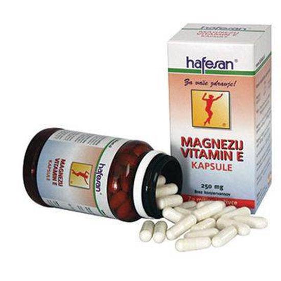 Hafesan magnezij in vitamin E, 60 kapsul ali KOMPLET