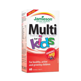 Slika Jamieson Multi for Kids, 60 bonbonov