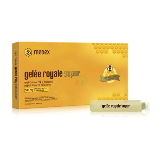 Gelee royale super fiole, 10x9 mL
