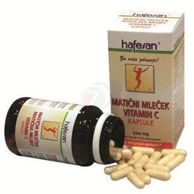 Slika Hafesan matični mleček in vitamin C, 60 kapsul ali KOMPLET
