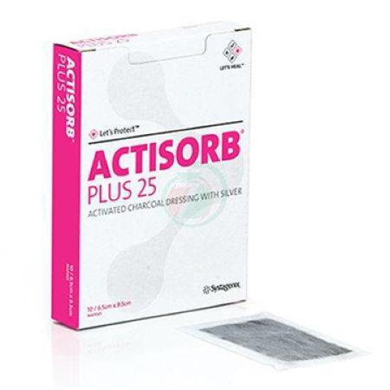 Actisorb plus - 10,5x10,5cm, 10 kom