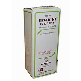 Slika Betadine dermalna raztopina, 100 mL