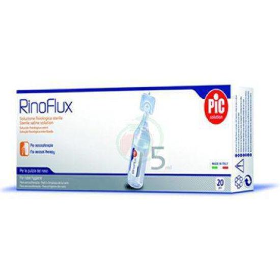Rinoflux fiziološka raztopina, 20x5 mL