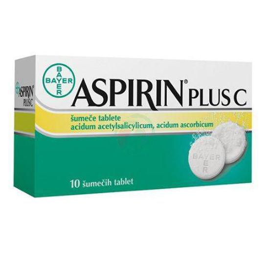 Aspirin plus C, 10 šumečih tablet
