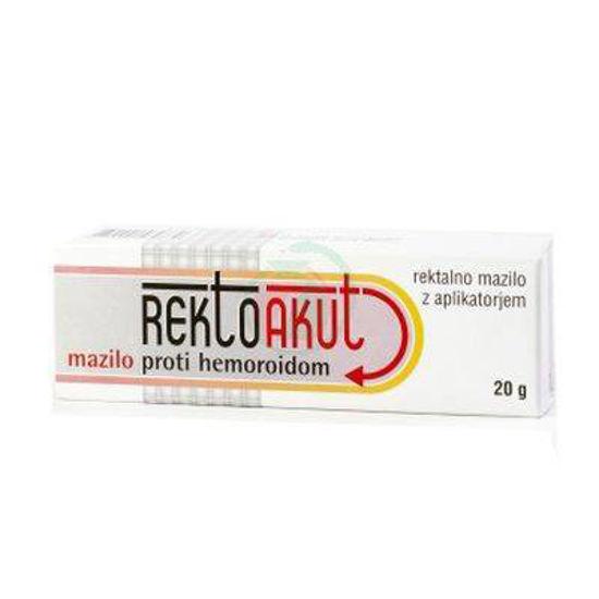 Rektoakut mazilo proti hemoroidom, 20 g