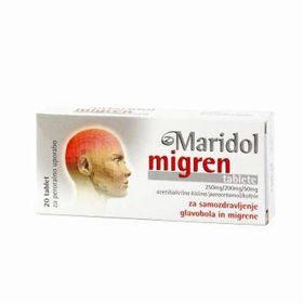 Slika Maridol migren, 20 tablet