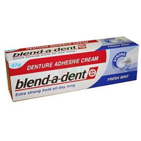 Slika Blend-a-dent močno lepilo za proteze z okusom po sveži meti, 47 g