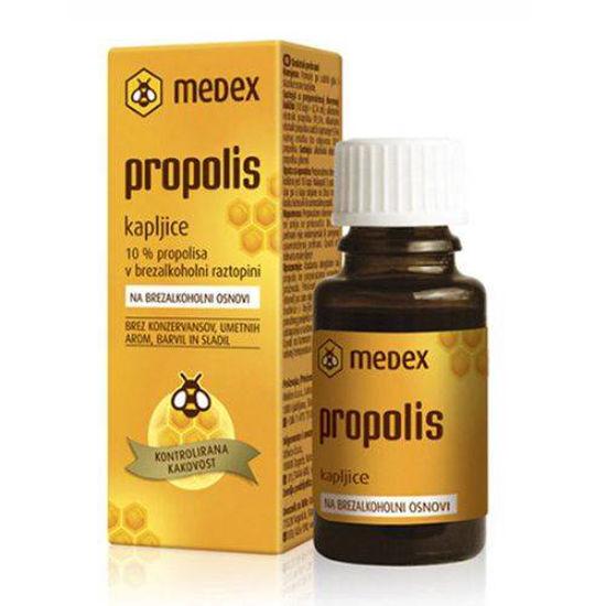 Propolis kapljice na brezalkoholni osnovi, 15 mL