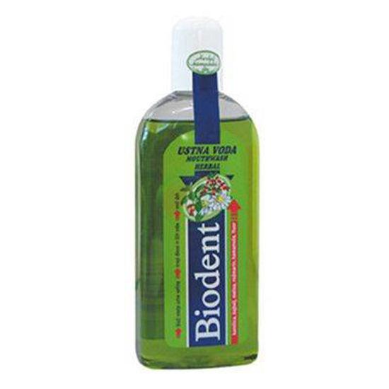 Biodent ustna voda herbal, 250 mL