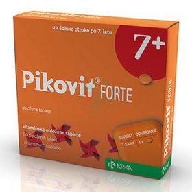 Slika Pikovit forte 7+, 30 obloženih vitaminskih tablet