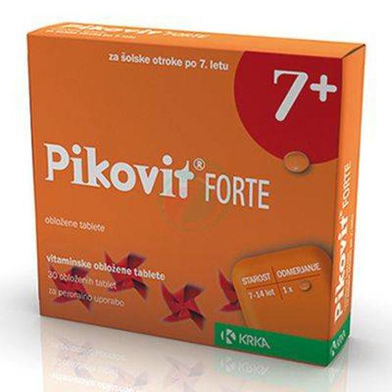 Pikovit forte 7+, 30 obloženih vitaminskih tablet