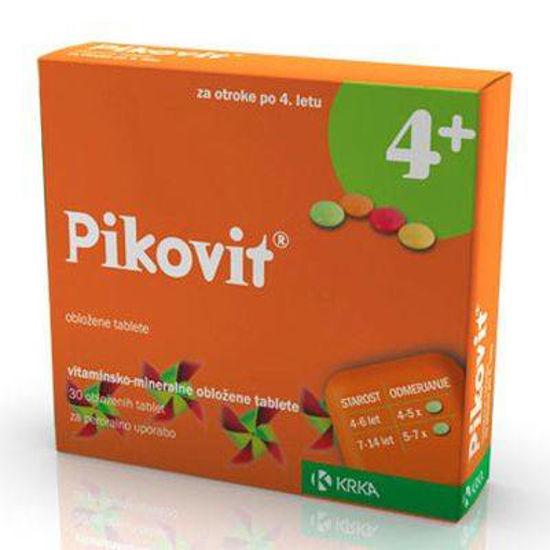 Pikovit 4+, 30 obloženi tablet