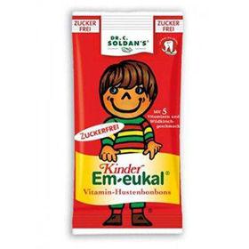 Slika Dr. Soldan Em-Eukal trdi bonboni brez sladkorja za otroke, 75g