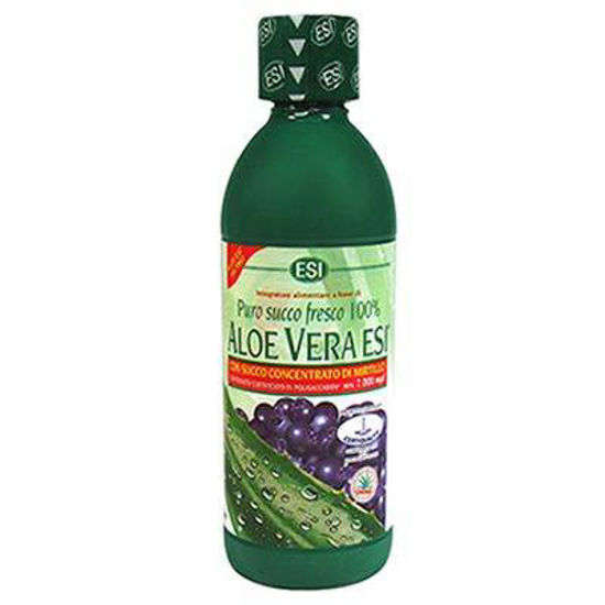 Aloe vera sok borovnica,  500 ali 1000 mL