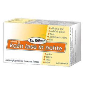 Slika Dr. Böhm tablete za kožo, lase in nohte, 60 tablet