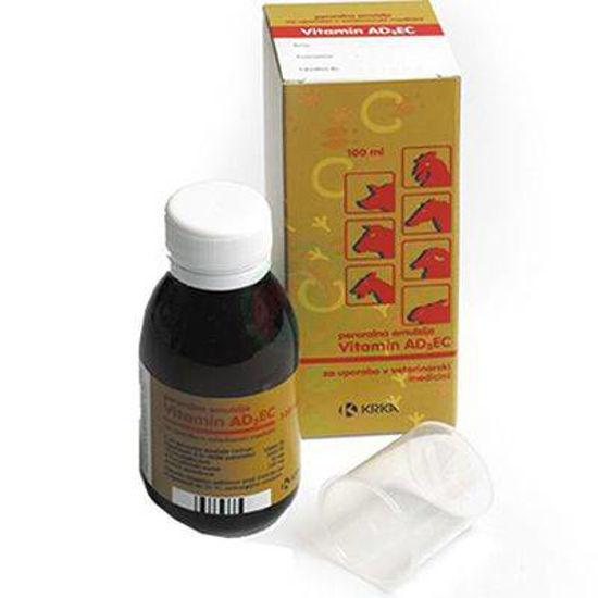 Vitamini AD3EC peroralna emulzija za živali, 100 mL