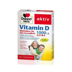 Slika Doppel Herz aktiv Vitamin D 2000 I.E. EXTRA, 45 tablet