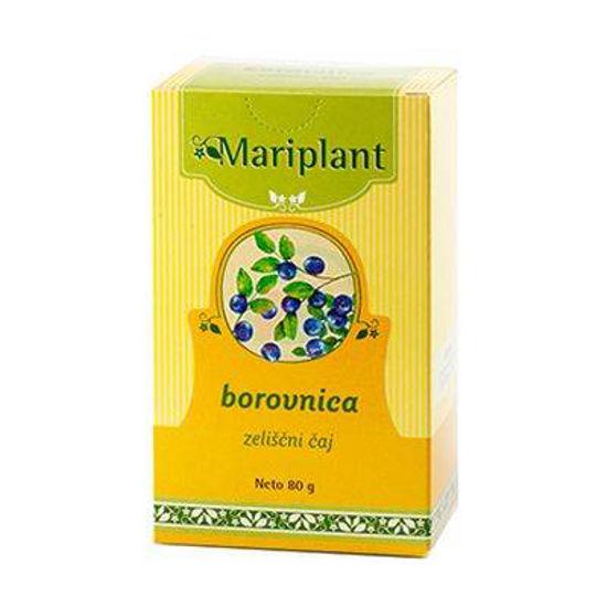 Mariplant borovnica zeliščni čaj, 80 g