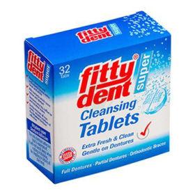 Slika Čistilne tablete Fittydent