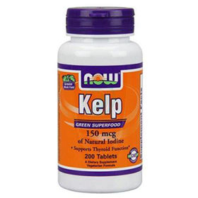 Slika Now kelp jod 150 ug, 200 tablet
