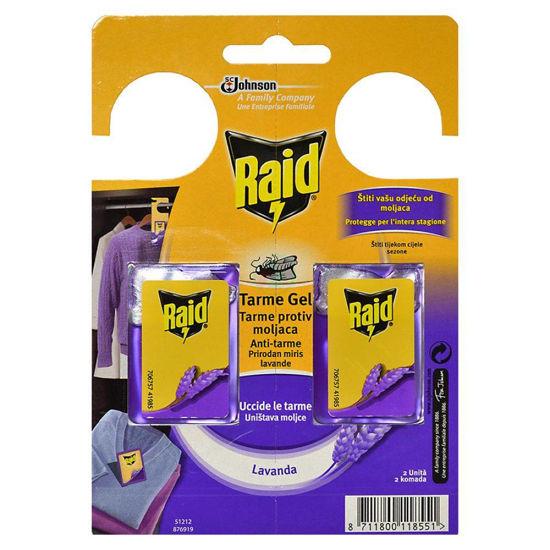 Raid zaščita proti moljem z vonjem sivke