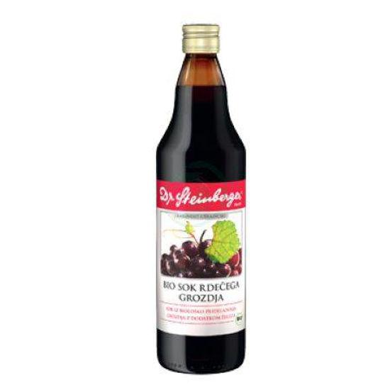 Dr. Steinberger sok rdečega grozdja, 750 mL