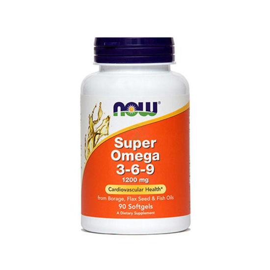 Now Super omega 3-6-9, 90 kapsul