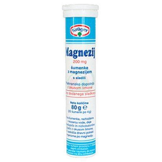 Magnezij šumeče tablete, 20 tablet