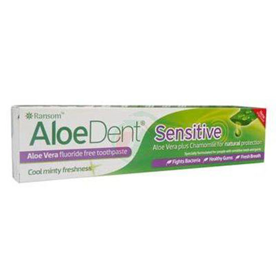 AloeDent Sensitive zobna pasta z aloe vero, 100 mL