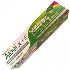 Slika AloeDent Whitening zobna pasta z aloe vero, 100 mL