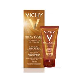 Slika Vichy Ideal Soleil samoporjavitveno mleko za obraz + telo, 100 mL