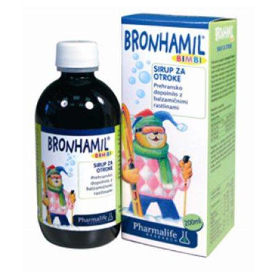 Bronhamil Fitobimbi sirup, 200 mL