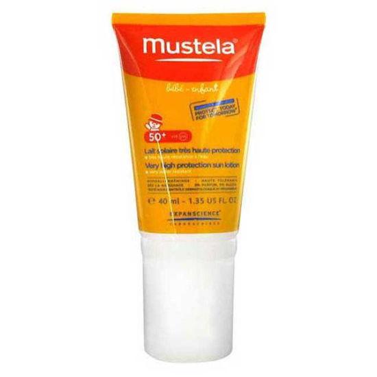 Mustela krema za zaščito otrok in dojenčkov pred soncem z ZF 50+, 40 mL