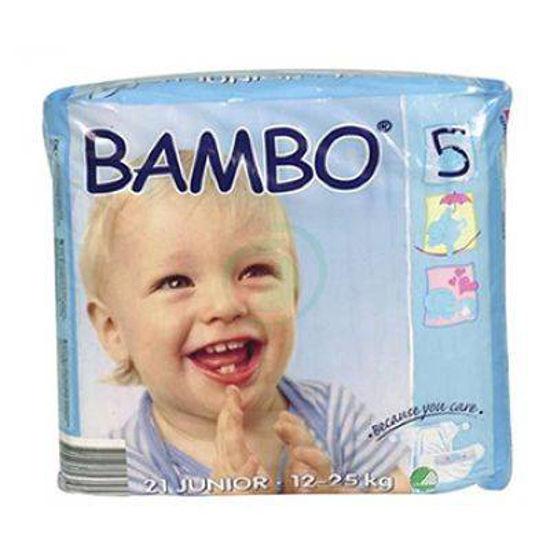 Bambo plenice za otroke - Junior