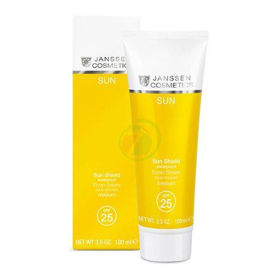 Slika Janssen Cosmetics Sun vodoodporna sončna krema za zaščito pri sončenju z ZF 25, 100 mL