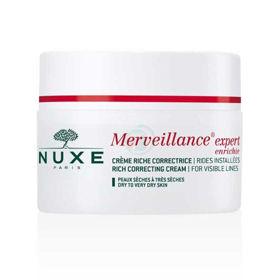Slika Nuxe Creme Merveillance Enrichie obogatena krema za intenzivno korektivno delovanje proti gubam, 50 mL