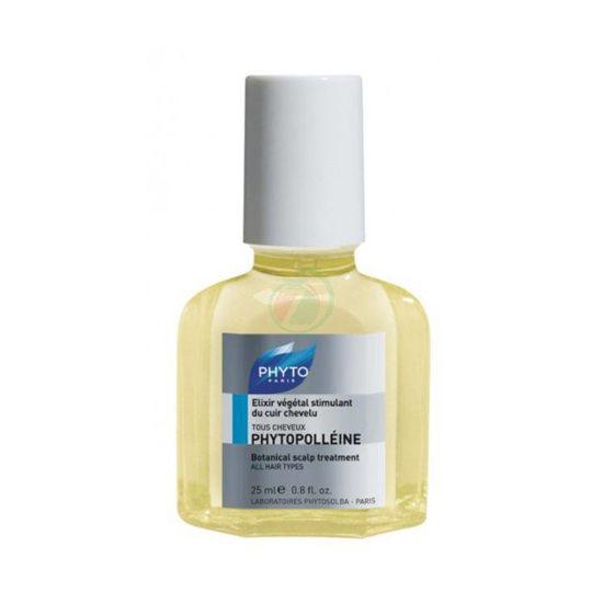 PHYTOPOLLEINE Olje za spodbuditev lasišča z esencialnimi olji, 25 mL