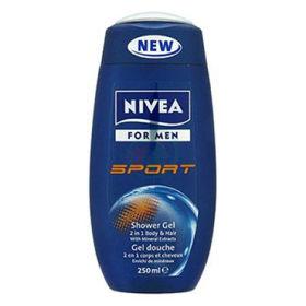 Slika Nivea Sport for men gel za prhanje, 250 mL