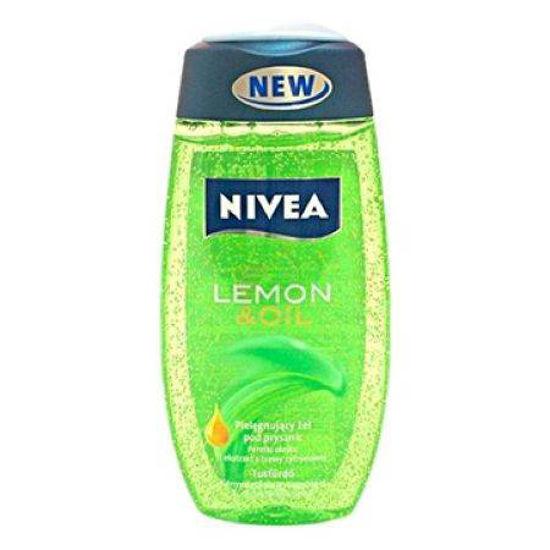 Nivea tuš gel lemon oil fresh, 250 mL