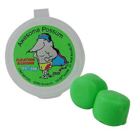 Silikonski čepki za ušesa Soggy Froggy, 2 čepka