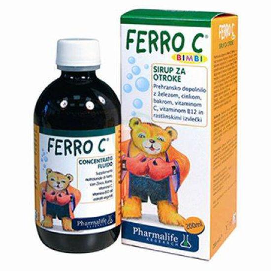 Ferro C Fitobimbi sirup, 200 mL