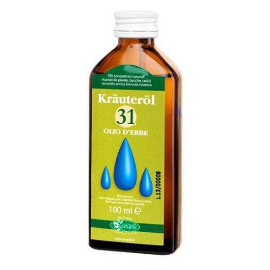 Zeliščno olje 31, 100 mL