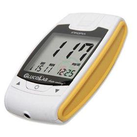 Slika Glucolab merilnik krvnega sladkorja, 1 merilnik