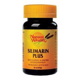 Slika Natural Wealth Silimarin plus, 30 kapsul