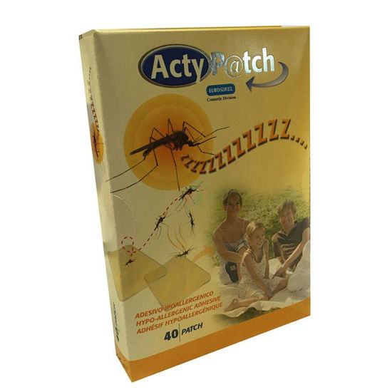 Actypatch stop zzzz obliž proti komarjem, 40 kom